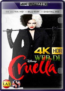 Cruella (2021) WEB-DL 4K UHD HDR LATINO/INGLES