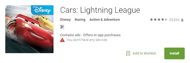 Cars : Fast as Lightning