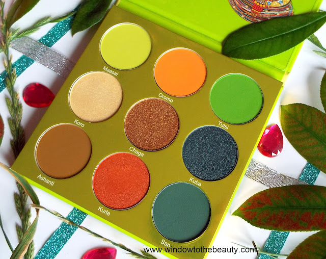 perfect green gold cooper palette