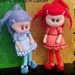 patron gratis muñeca duende amigurumi | free pattern amigurumi doll