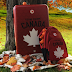 Win a FREE Hudson's Bay Team Canada Luggage Prize Pack