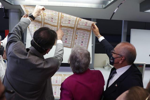 Entrega TGM al INE últimos paquetes con boletas de las elecciones federales