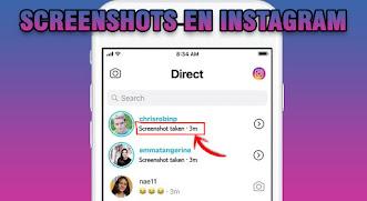 Instagram notifica cuando hacemos screenshots a conversaciones