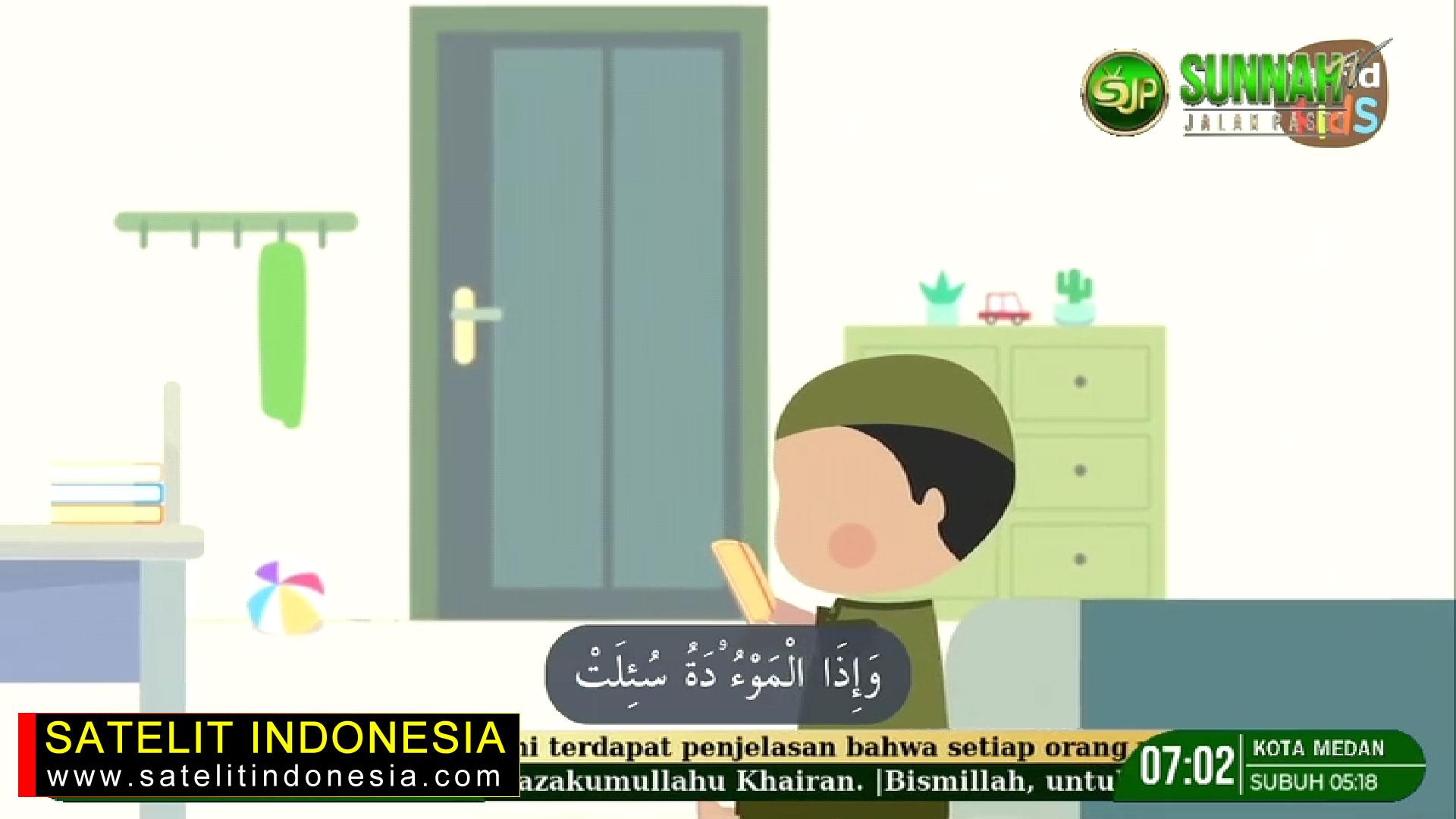 Frekuensi siaran Sunnah Jalan Pasti TV di satelit Telkom 4 Terbaru