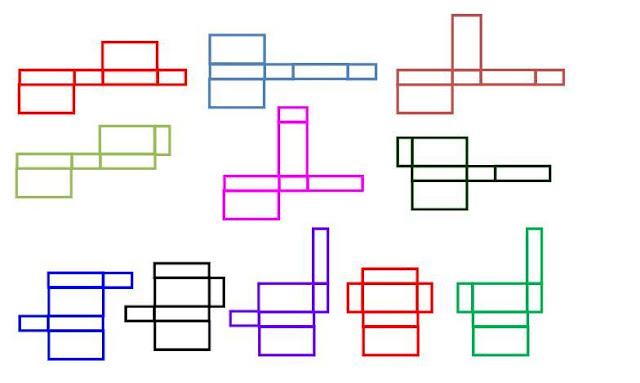 contoh jaring-jaring balok adalah
