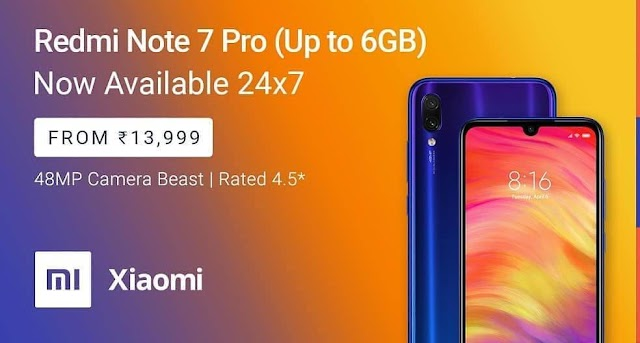 Redmi Note 7 Pro Next Sale: Xiaomi's big announcement on Redmi Note 7 Pro will be able to buy anytime
