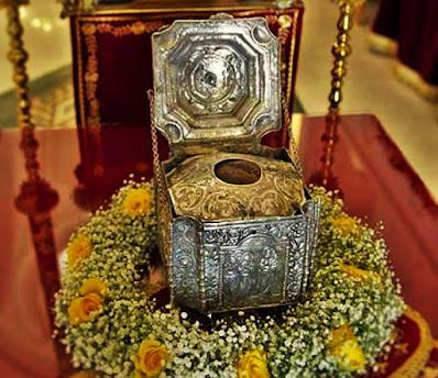 Η Τιμία Κάρα του Αγίου Ιγνατίου. Ι.Μ. Βεροίας, Ναούσης και Καμπανίας
