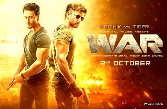 War (2019) Movies Download in  HD 720p .