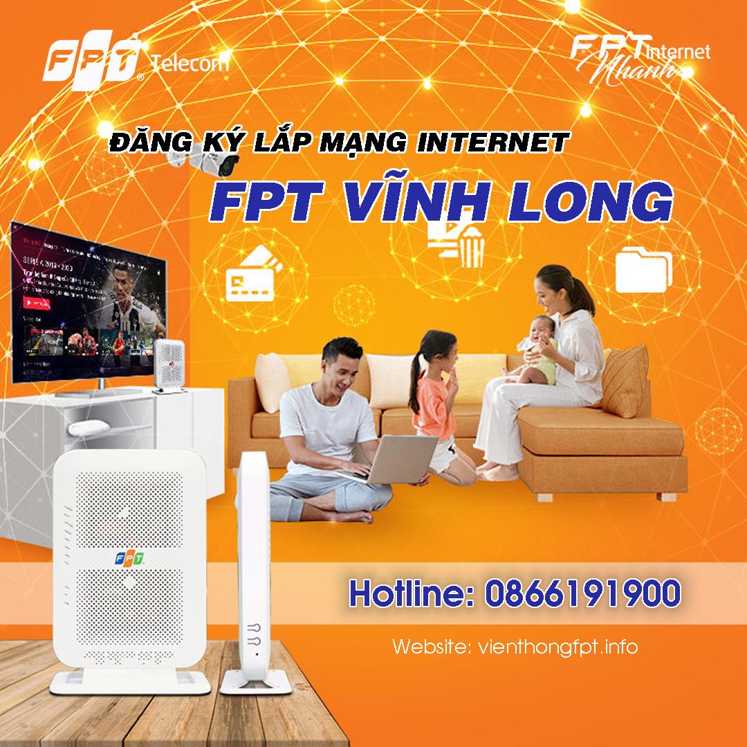 Đăng ký Internet FPT tại Vĩnh Long - Tăng 2 tháng cước sử dụng
