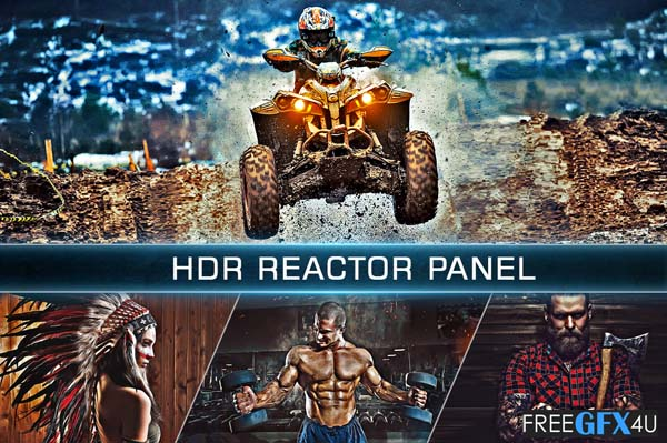 HDR Reactor 3 IN 1 panel