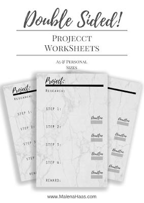 10 Ways To Feel Productive PLUS Free Printable WorkSheet! www.MalenaHaas.com