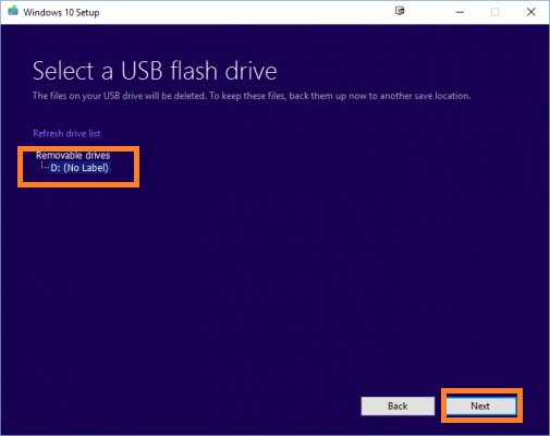 How to install Fresh Windows 10 with Windows Media Tool