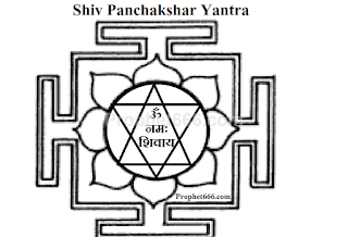 Shiva Panchakshari Yantra for fulfilment of hopes and aspirations