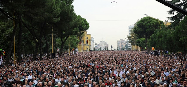 Holy month of Ramadan started for Muslim Albanian believers