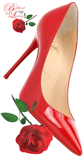 Jimmy Choo hot red Romy patent leather pumps #brilliantluxury