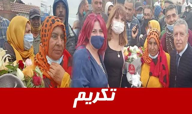 تونس: بعد أن تبرّعت بشقاء عمرها..فرجانية تتلقى دعوات للتكفّل بإرسالها للحج
