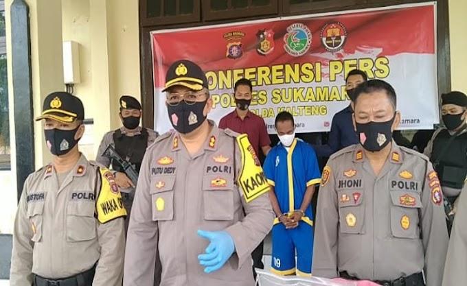 Polres Sukamara Berhasil Ungkap Kasus Curat, Rugikan Korban Hingga 700 Juta