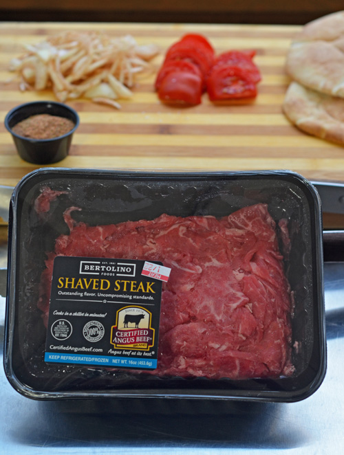 Certified Angus Beef® Brand shaved steak from Food City
