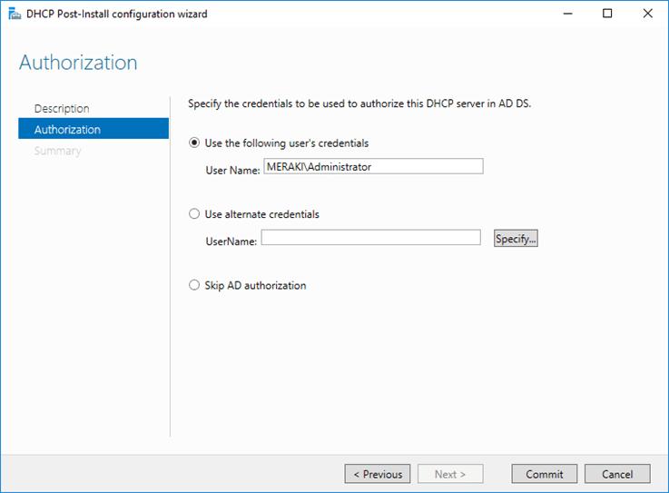 قم بتثبيت دور DHCP في Windows Server 2016