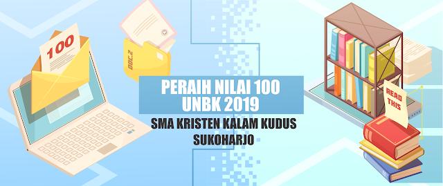 5 Siswa SMA Kristen Kalam Kudus Raih Nilai 100 UNBK 2019