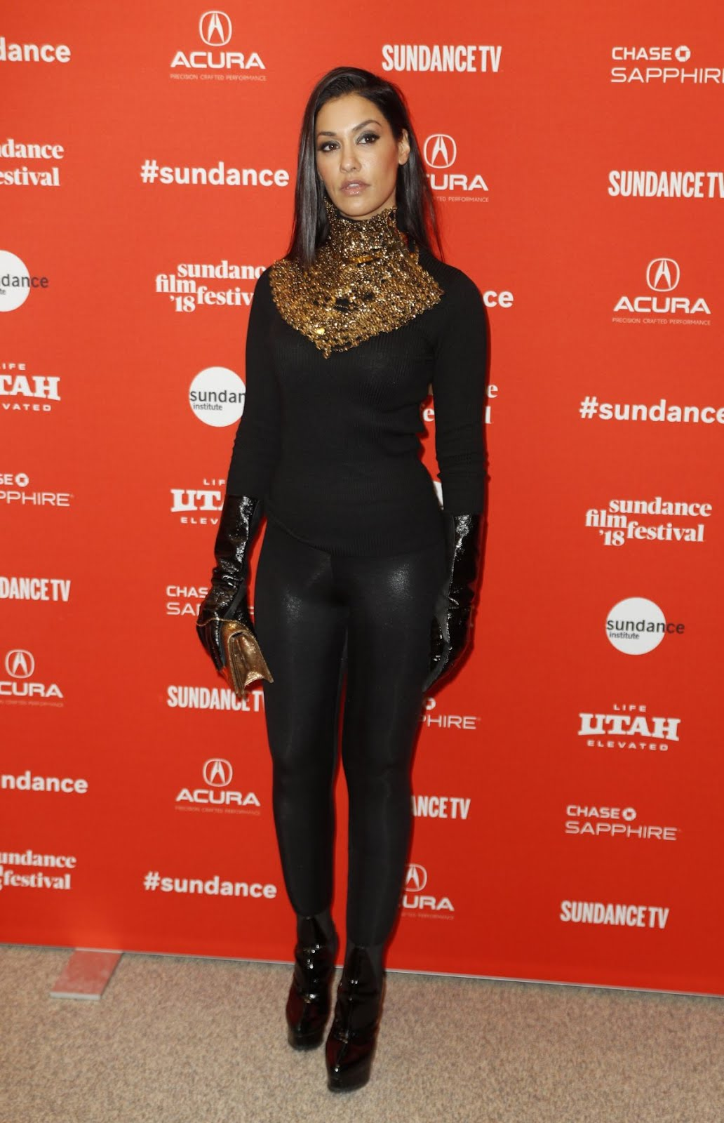 Janina Gavankar At Blindspotting Premiere At 2018 Sundance Film Festival In Park City 2018