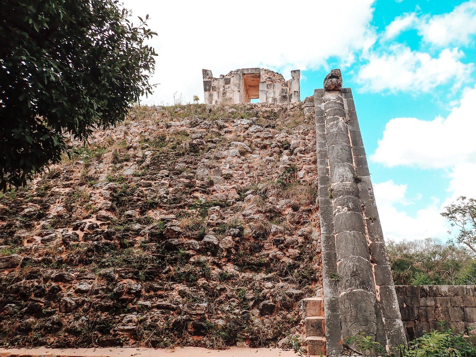 jeu de balle maya à chichen itza