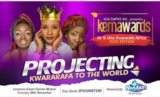 KGK Empire Presents Mr And Miss KWAA 2020/2021 [Full Details]