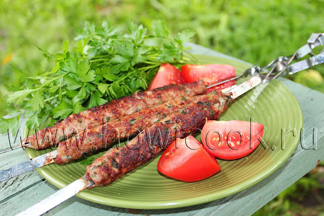 рецепт люля-кебаба на углях