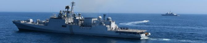 INS Tabar Concludes Two-Day Naval Exercise With The French Navy