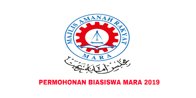 Permohonan Biasiswa MARA 2019 Online