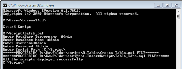 Batch Script to execute multiple SQL files