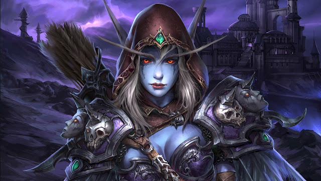 War of Warcraft Sylvanas Windrunner