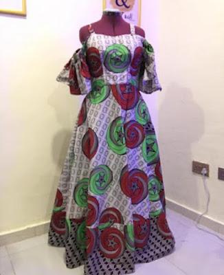 Ankara Long Gown Styles 2021