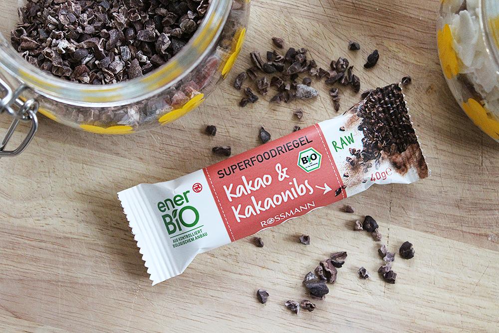 EnerBio Superfoodriegel Kakao