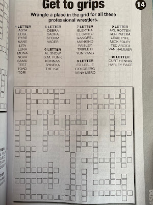 Wrestling Kriss Kross Puzzle
