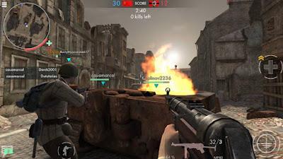 Game World War Heroes Apk+Data Mod