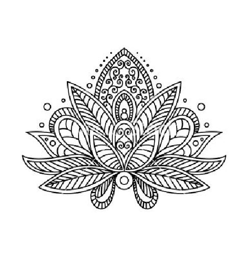 Lotus Flower Henna Tattoo Designs: Lotus Flower Tattoo Henna