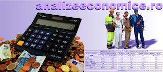Distribuția salariților după mărimea salariilor