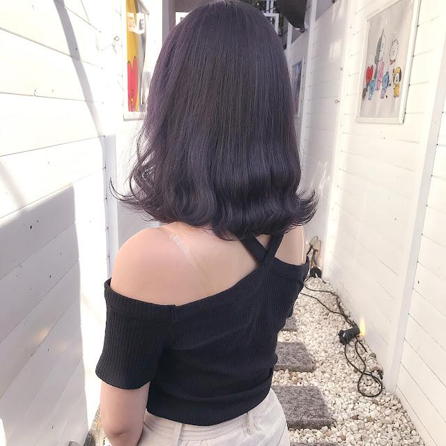 Kiểu tóc nữ đẹp xoăn sóng đuôi dài ngang vai