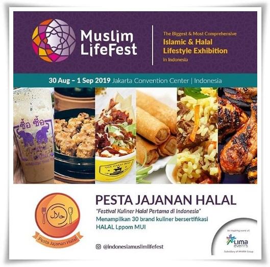 Indonesia Muslim Lifestyle Festival hadirkan Pusat Jajanan halal