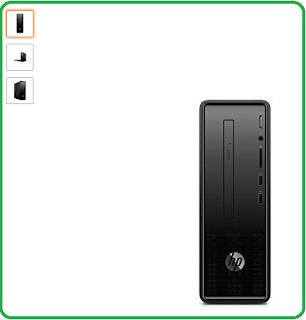 HP Slimline Desktop - 290 - a0020in (Intel Celeron J4005/4GB DDR4/1TB 7200RPM/Windows 10