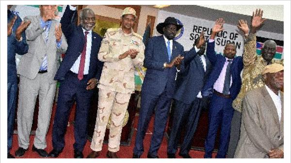 السودان يوقع اتفاق سلام تاريخي مع خمس جماعات متمردة