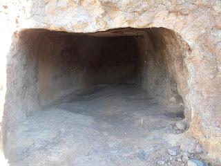 Vista interior de la Cueva de los Candiles