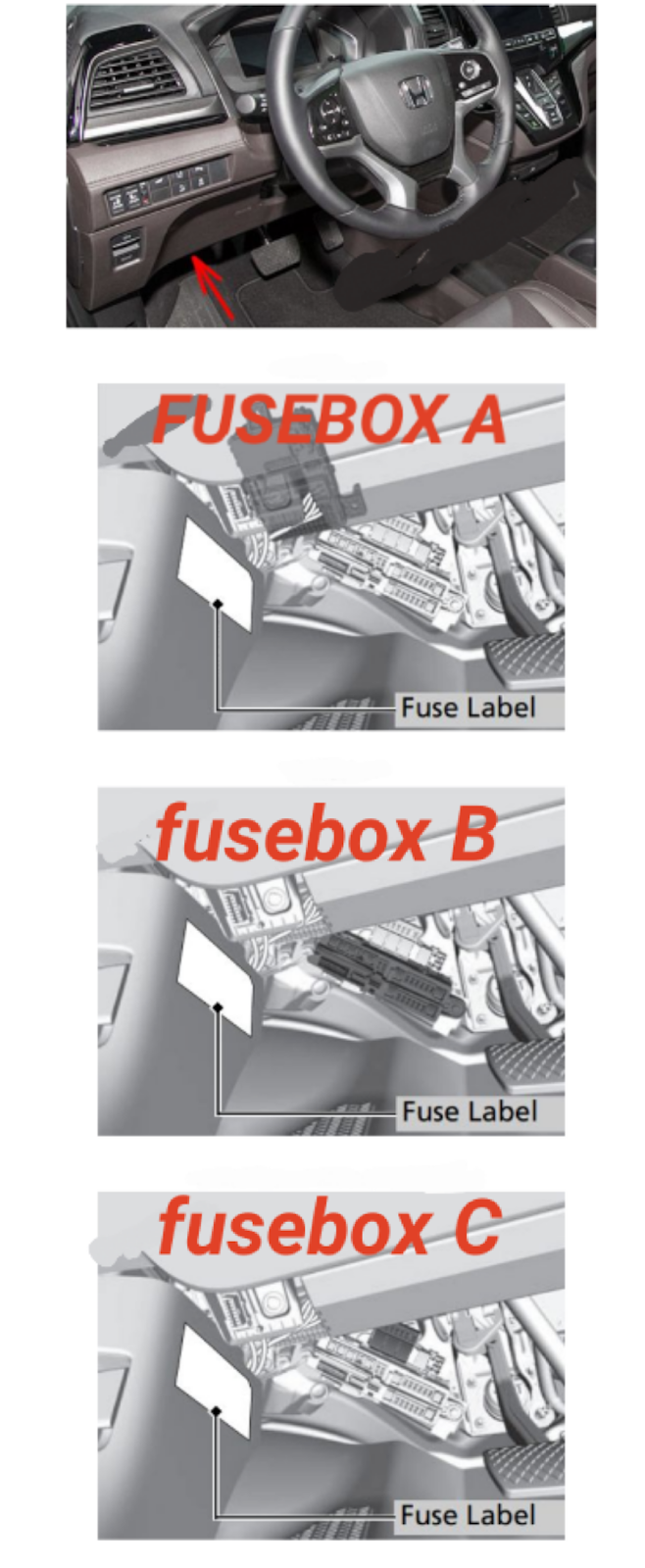 Diagram Fusebox Honda Odyssey 2018