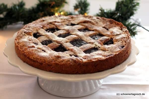 Klassische Linzer Torte zum Adventskaffee