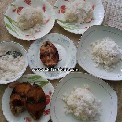 Cara masak beras pulut, pulut gaul kelapa, pulut gaul nyor, cara senang buat pulut gaul nyor, pulut kelapa paling sedap dan mudah di masak,
