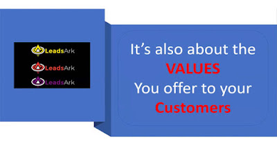 leadsark - value offer to customers