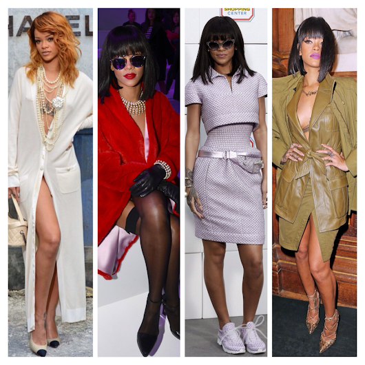 Celeb Status: Get Some of Rihanna's PFW Chicness for Less