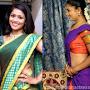 Kumkuma Puvvu Serial Actress Anu Sri (Renuka) Hot Half Saree Navel Show Photos