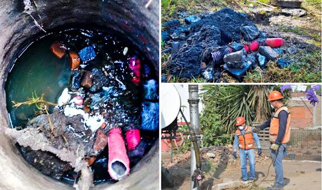 Evita tirar basura en las alcantarillas, pide el Sosapach a la ciudadanía
